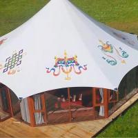 Quality Aluminum frame party glamping tents from factory Guangzhou for sale