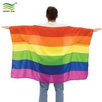 Buy cheap 90*150cm Polyester Pride Body Flag Cape from wholesalers