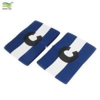 Buy cheap Logo Printing Football Stripe Design Stretchy Match Captain Armband from wholesalers