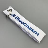 Buy cheap Embroidery keychain key tag key fob custom embroidery fabric keychain from wholesalers