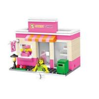 Buy cheap HSANHE mini street and mini figures kids plastic building blocks toys from wholesalers
