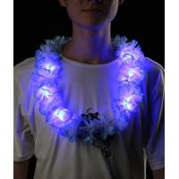 Quality LED Silk Flower Leis - Assorted for sale