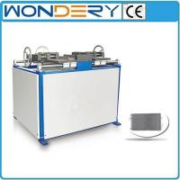 China Parallel Flow Condenser Manual Core Assembly Machine on sale