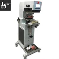 Quality semi auto inkwell 1 color pad printing machine for bottle for sale