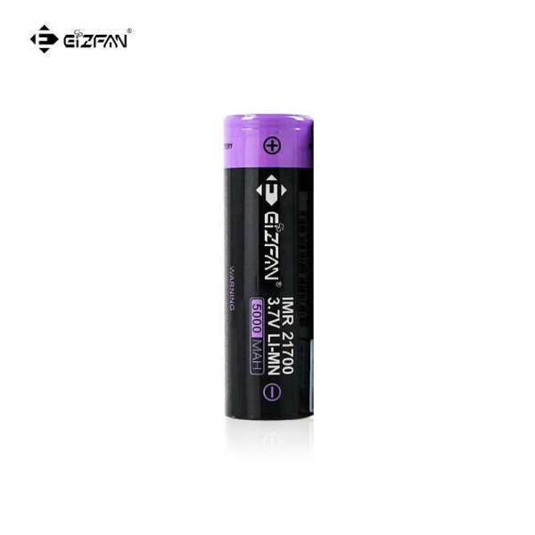China Efan IMR 21700 5000mAh 10A/15A 3.7V battery flat top