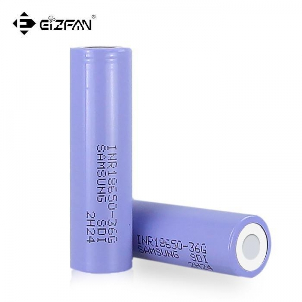 China Samsung INR 18650 36G 3600mAh 10A battery for drill tool scooter uav ebike battery pack