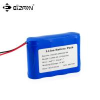 Quality 14.4v inflating pump battery pack 4s1p 18650 750mAh for sale