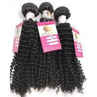 Quality 100% Real Human Hair Virgin Peruvian Hair Extensions Kinky Curl Weave Tight Curly #96380 for sale