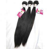 Quality 100% Virgin Peruvian unprocessed human hair extensions straight No Shedding Dyeable #96314 for sale