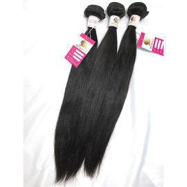 China 100% Virgin Peruvian unprocessed human hair extensions straight No Shedding Dyeable #96314