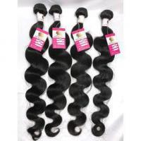 Quality 100% Pure Virgin Peruvian Hair Extensions Body Wave Hair Weave 4Bundles Long Hair #96461 for sale
