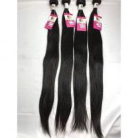 Quality Peruvian Raw Unprocessed Virgin Hair Straight Human Hair Weave No Tangle #96440 for sale