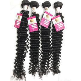 China Peruvian Deep Wave Hair 100% Virgin Human Hair Weave for Black Women Dyeable #96503