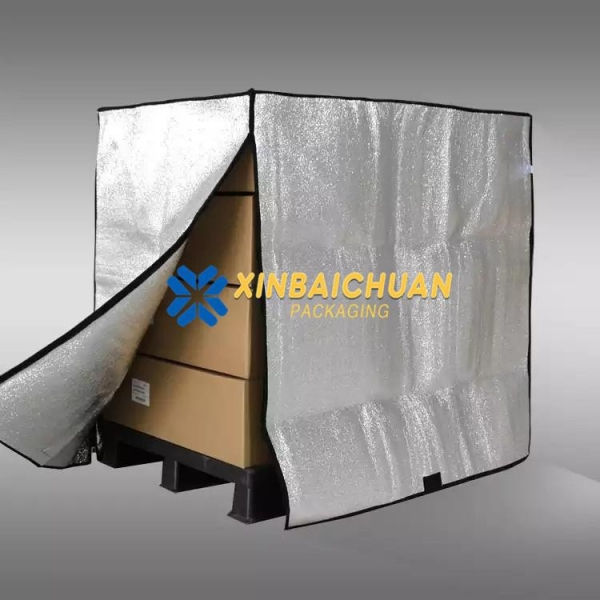 China Eco-friendly Thermal Insulating Covers Blankets for Pallet Container