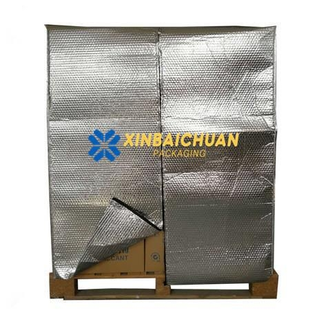 China Reusable Thermal Insulated Pallet Covers and Blankets
