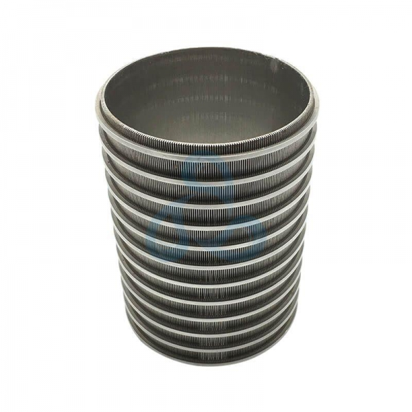 China Reverse Formed Wedge Wire Pipe