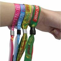 Quality Woven Wristbands for Events for sale
