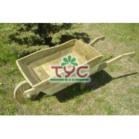 Buy cheap Wooden Wheelbarrow from wholesalers