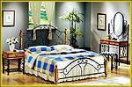 Buy cheap FD805 metal bed from wholesalers