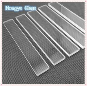 China HM clear round sight transparent borosilicate glass