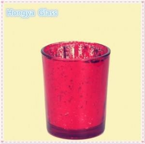 China high quality cylinder glass candlestick candle holder