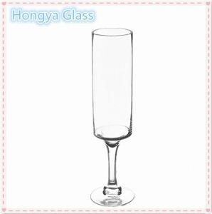 China Handmade and Weddings Use long-stemmed glass candle holder