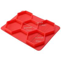 Quality SRK#1302 Food grade meat mold silicone hamburger cutlet mold for sale