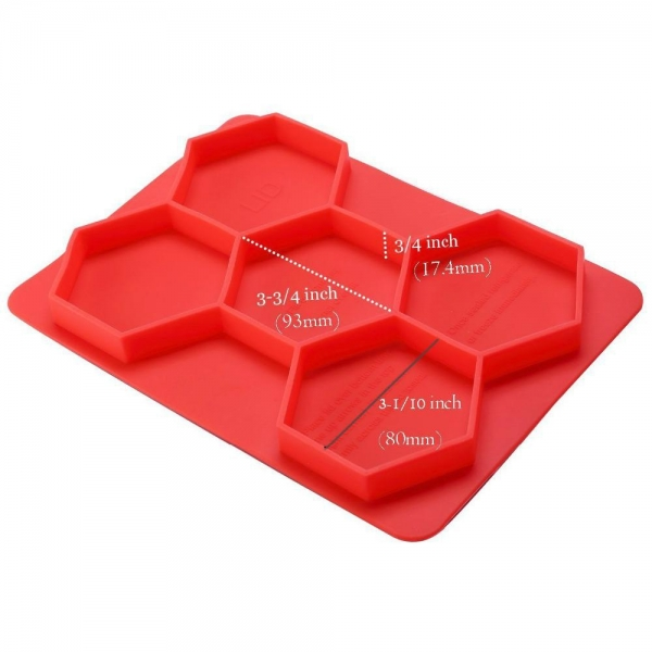China SRK#1302 Food grade meat mold silicone hamburger cutlet mold