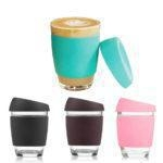 China SRD#200 Reusable high borosilicate coffee cup Keep Cup 12 oz coffee cup