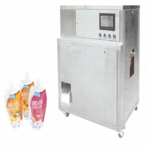 China KNS-1 stand up pouch filling machine