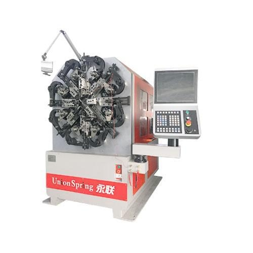 China 4-Axis /5 Axis Wire Rotary Spring Machine