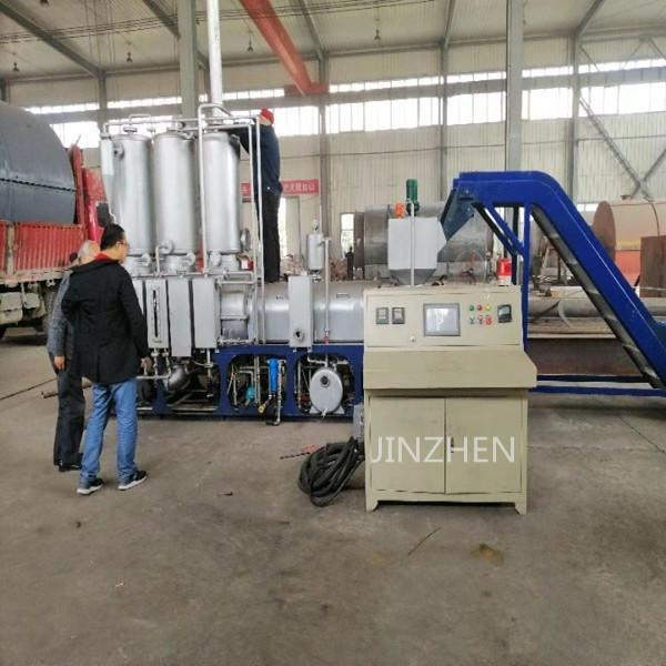 China Waste Plastic To Diesel Plant