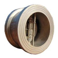 Buy cheap Wafer check valve with brone disc from wholesalers