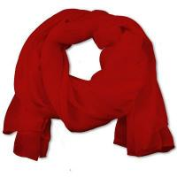 Quality SS-01 | Women's Red Chiffon Scarf for sale