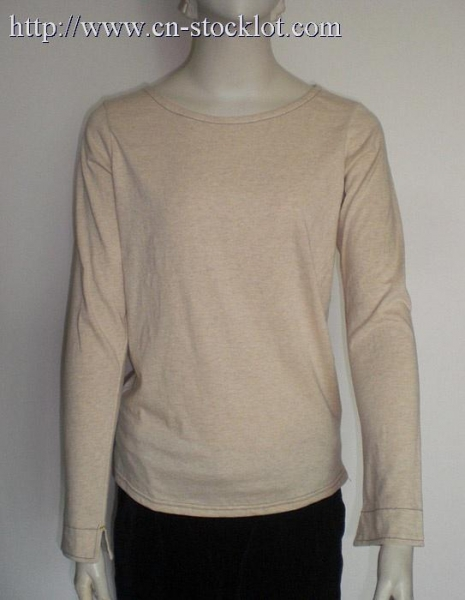 Buy HYG1014-1 3800pcs long sleeve womens solid long sleeve tops at wholesale prices