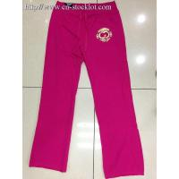 Buy cheap 5Q-1102 ladys Straight-Leg French Terry pants from wholesalers