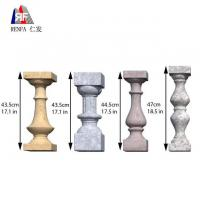 China Beautiful and Durable Plastic vase column mold for concrete baluster on sale