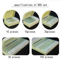 Buy 50pcs Prepared Glass Microscope Slides Set For Student Science Research at wholesale prices