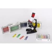 Quality 12pcs/set Prepared Microscope PVC Biological Specimen Slide As Children Toy for sale