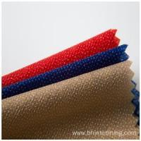 China Colorful dyed nonwoven fusible lining and interlining fabric on sale