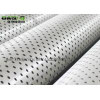 Quality API 5CT N80 Galvanized Surface Carbon Perforated Casing&tubing Pipe for sale