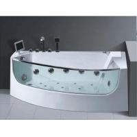 China China suppliers hydrotherapy baths sale walk-in tub shower combo with LED Bulbs AD-8806 on sale