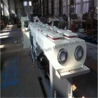 Quality PVC PP PE Double Pipe Production Line for sale