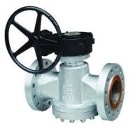 Quality Worm Gear Lubricated Plug Valve for sale