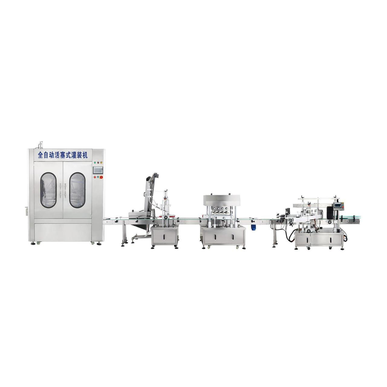 Buy cheap The shampoo shower gel filling production line from wholesalers