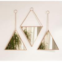 Buy cheap Set of 3 triangular mirrors from wholesalers